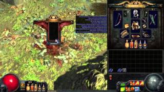 Making 6 links and currency rain in Darkshrines! POE highlights