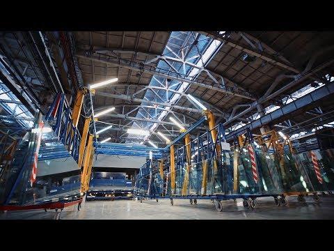 Отличный фильм про производство стекла| Презентационный видеоролик стекольной компании Modern Glass