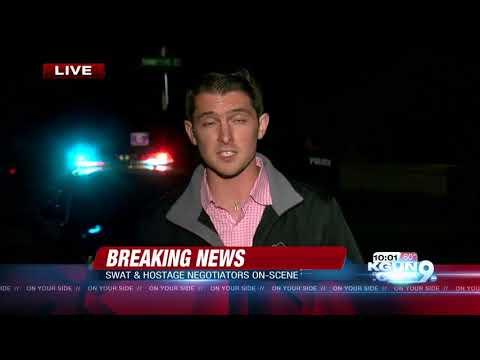 SWAT team standoff outside east-side home