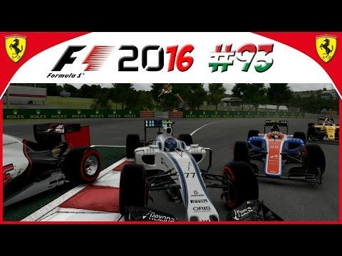 F1 2016 KARRIERE #93: Spannende Rad an Rad Duelle!