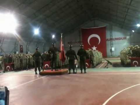 349. Dönem İzmir Foça Jandarma Komando Asteğmen Adayları Yemin Töreni