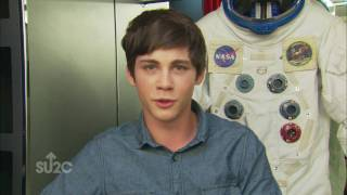 BTS: Logan Lerman on Change the Odds with SU2C