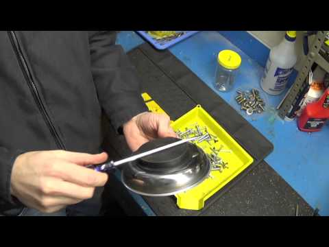 How to : Magnetize a Screwdriver