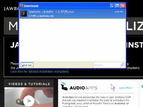 Jawbone Mytalk How To Install Jawbone Updater For Windows Youtube
