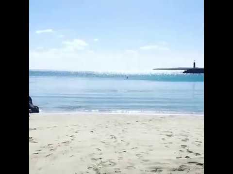Beach in Puerto Del Rosario