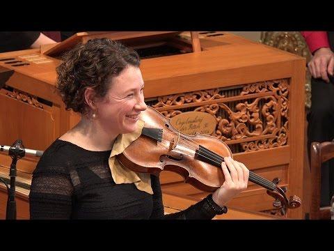 Vivaldi: Winter (the Four Seasons), 1st mvt. Cynthia Freivogel & Voices of Music 4K UHD RV 297