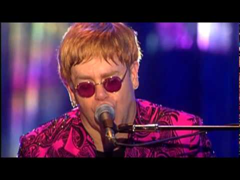 Elton John - Blue Eyes (Live-HQ)