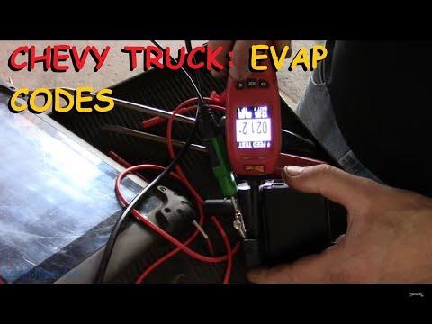 Chevrolet EVAP Diagnosis: Codes P0440, P0442, P0449, P0453
