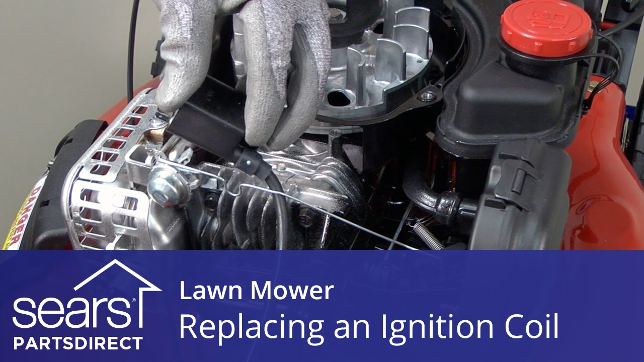 hight resolution of replacing the ignition coil on a lawn mower