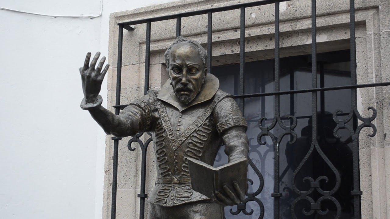 Juan Ruiz de Alarcón y Mendoza de visita en esta ciudad Platera