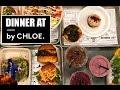Dinner at by Chloe Los Angeles