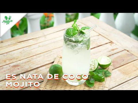 MINUMAN ALA BARTENDER   Es Nata De Coco Mojito