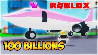 J'ACHÈTE L' AVION DE GLACE A 100 BILLIONS ! 🍦 Roblox Ice Cream Van Simulator