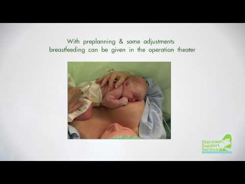 Breastfeeding after Cesarean Section : Guide to mother thumbnail