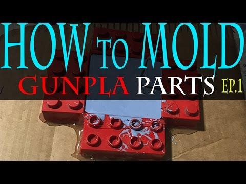 How to Mold Gunpla Parts EP 1