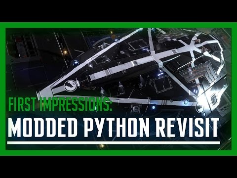 Elite: Dangerous - Modded Python Revisit