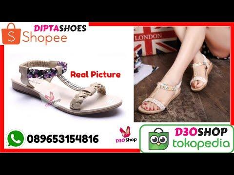 Jual Sandal Wanita Lucu Murah | Sepatu Sandal Wanita Grosir Termurah 089653134816