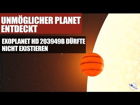 Unmöglicher Planet Entdeckt - Exoplanet HD 203949b dürfte nicht existieren