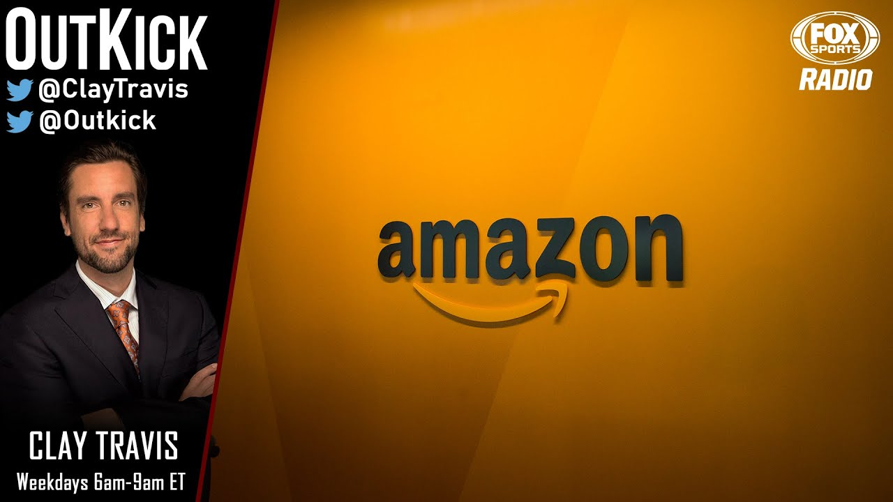 Clay Travis rips Amazon for removing Redskins merchandise