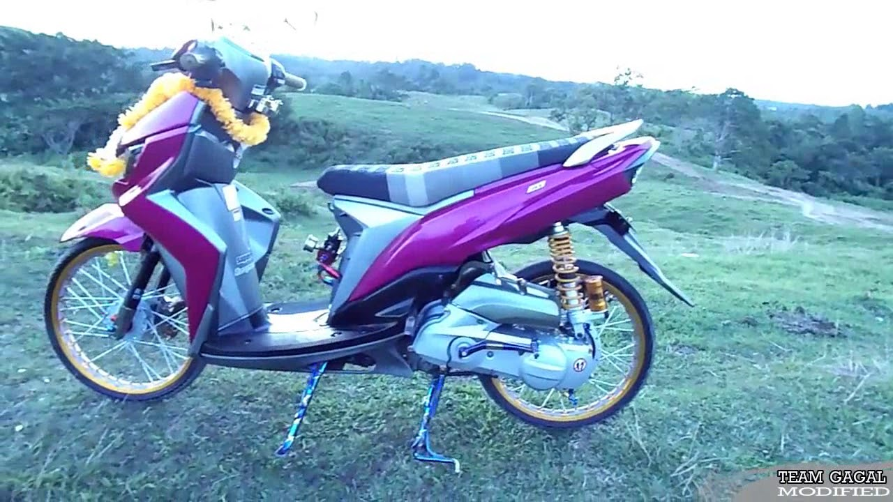 Modifikasi Motor Yamaha Soul Gt Zone Mothai By Team Gagal Modified