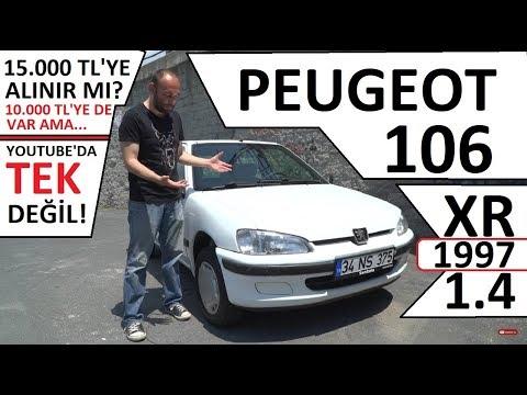 #PEUGEOT #106 1.4 XR (1997) 15.000 TL'YE BU ARABA ALINIR MI? #PAZARTESİPEUGEOT'U NEDİR?