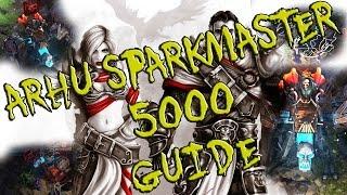 Divinity Original Sin - Arhu SparkMaster 5000 (First Big BOSS) - Guide/Walkthrough/Fight