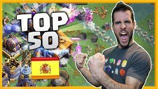 TOP 50 es MIO!! SUBIDA DE COPAS - ALDEA NOCTURNA - CoC