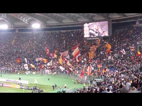 Roma-Milan, 'Campo Testaccio' 25.04.14