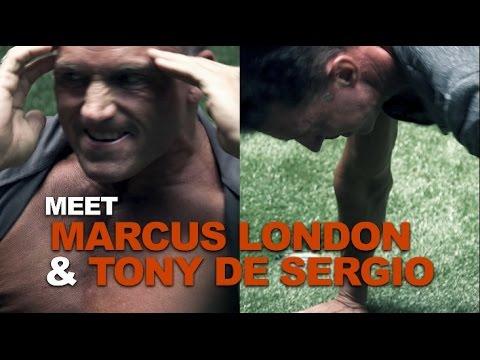 Marcus London and Tony De Sergio romance Mercedes!