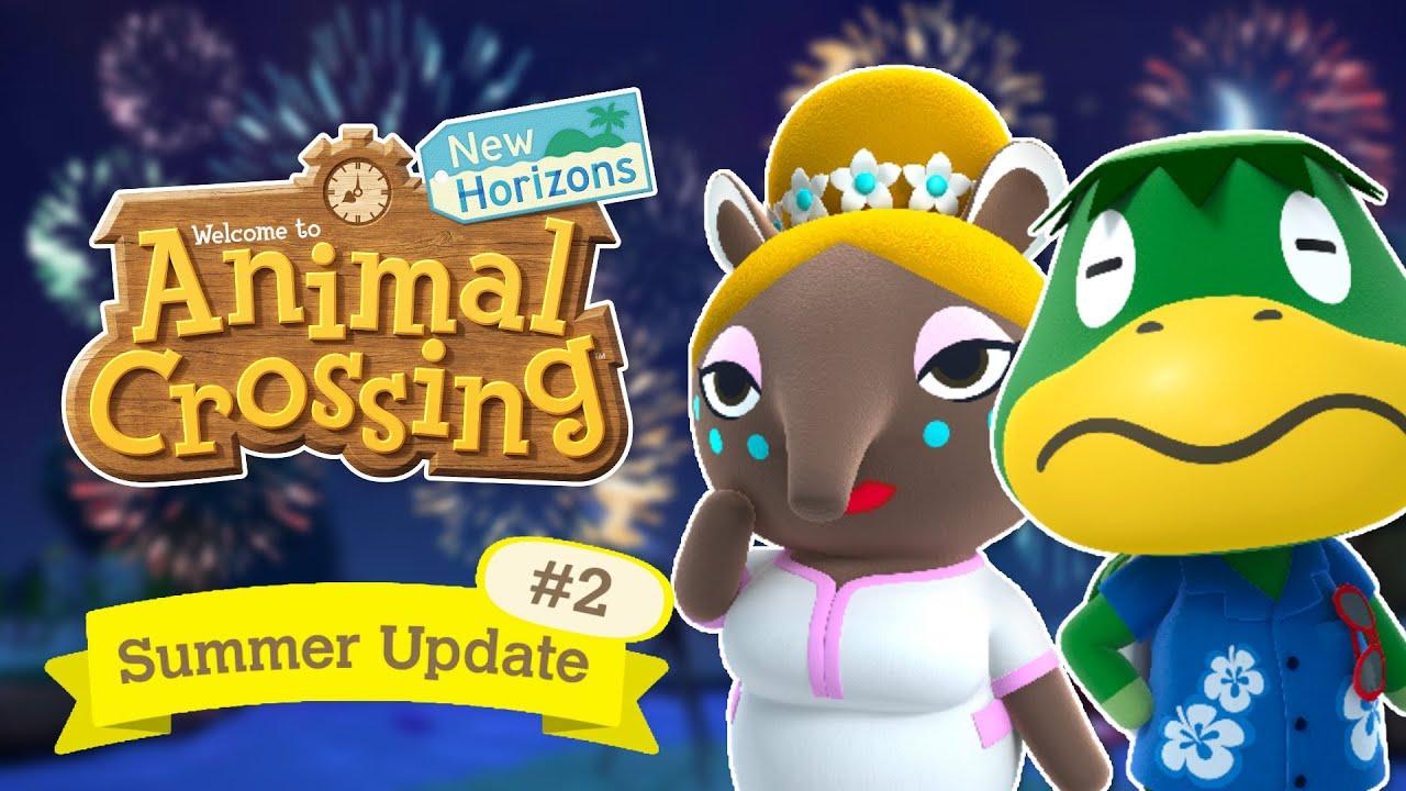 Animal Crossing New Horizons Wave 2 Summer Update Speculation (Dream Suite, Kapp'n)