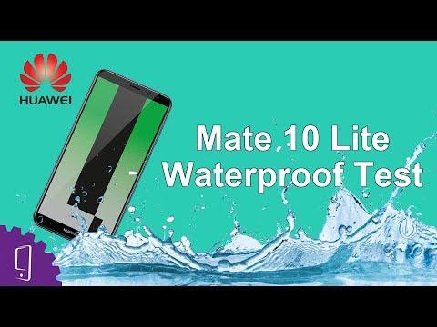 Huawei Mate 10 Lite Waterproof Test | Huawei Honor 9i - YouTube