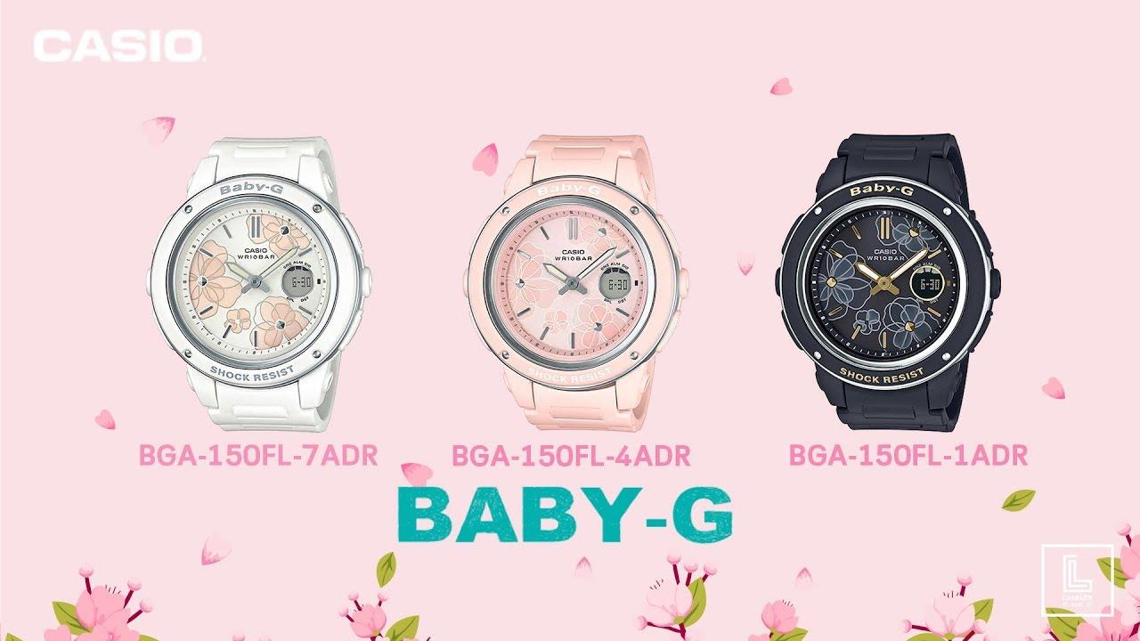 UNBOX x PREVIEW นาฬิกา BABY-G รุ่น BGA-150FL-1A   BGA-150FL-4A   BGA-150FL-7A