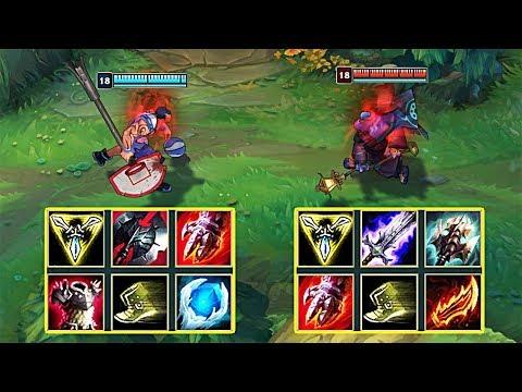 DARIUS vs JAX FULL BUILD FIGHTS & More!