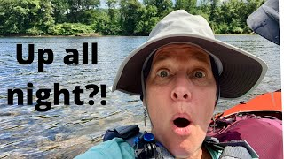 Paddling and camping - A Deląware River camping trip - Part 2