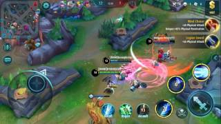 Mobile Legends - Layla Gameplay Atk Spd + Crit Dmg