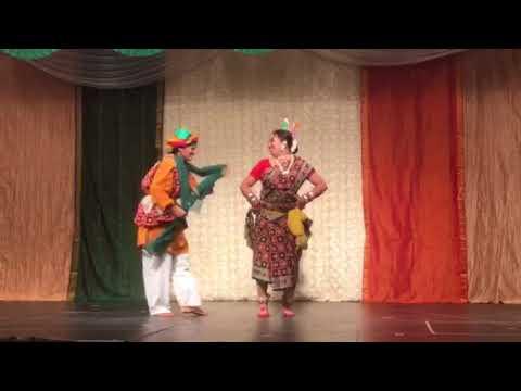 Odia modern folk dance Jai phoola re