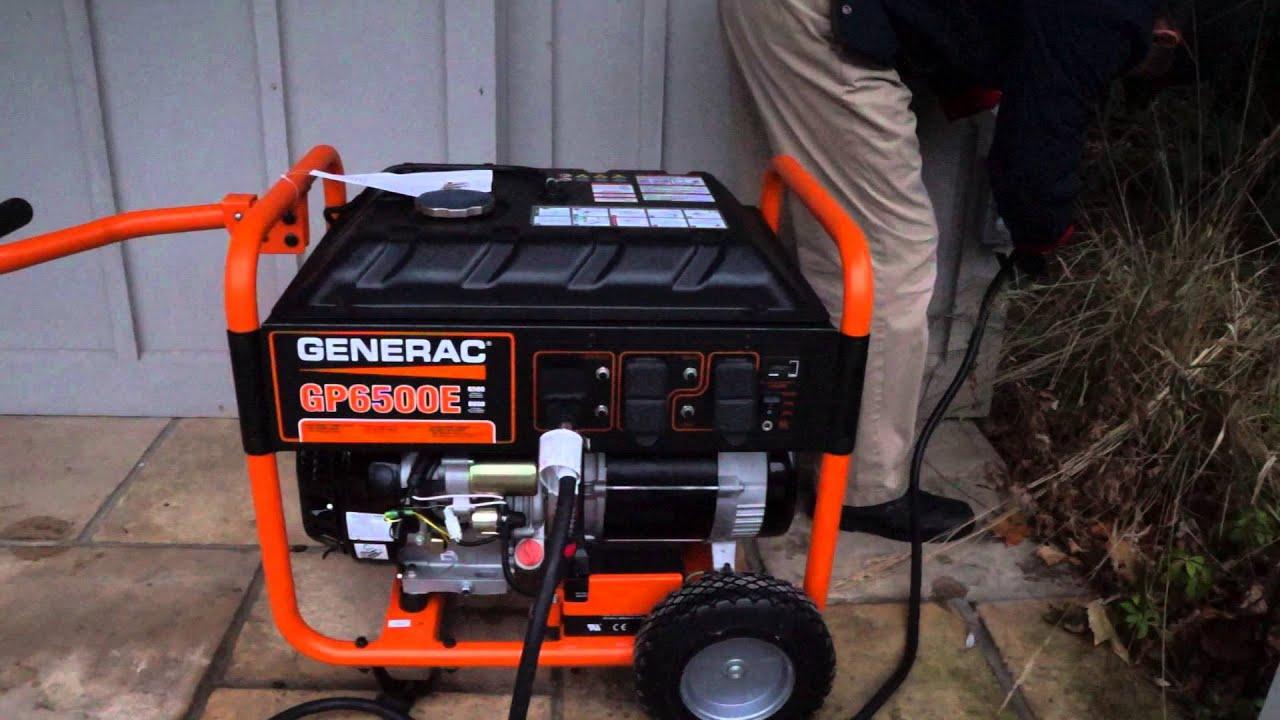 Generac Gp6500