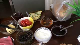 ТУРЕЦКИЙ ЗАВТРАК стандартный * что едят турки на ЗАВТРАК / ИЗМИР ТУРЦИЯ