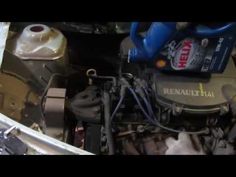Замена масла в двигателе Рено Логан и Лада Ларгус