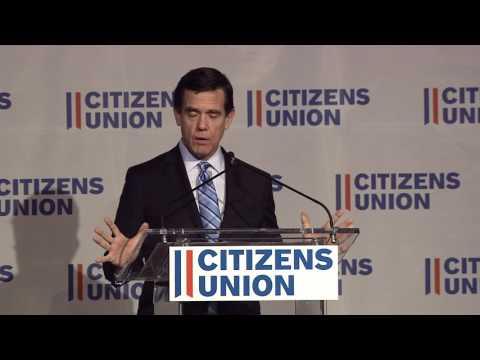 Citizens Union Annual Dinner 2016