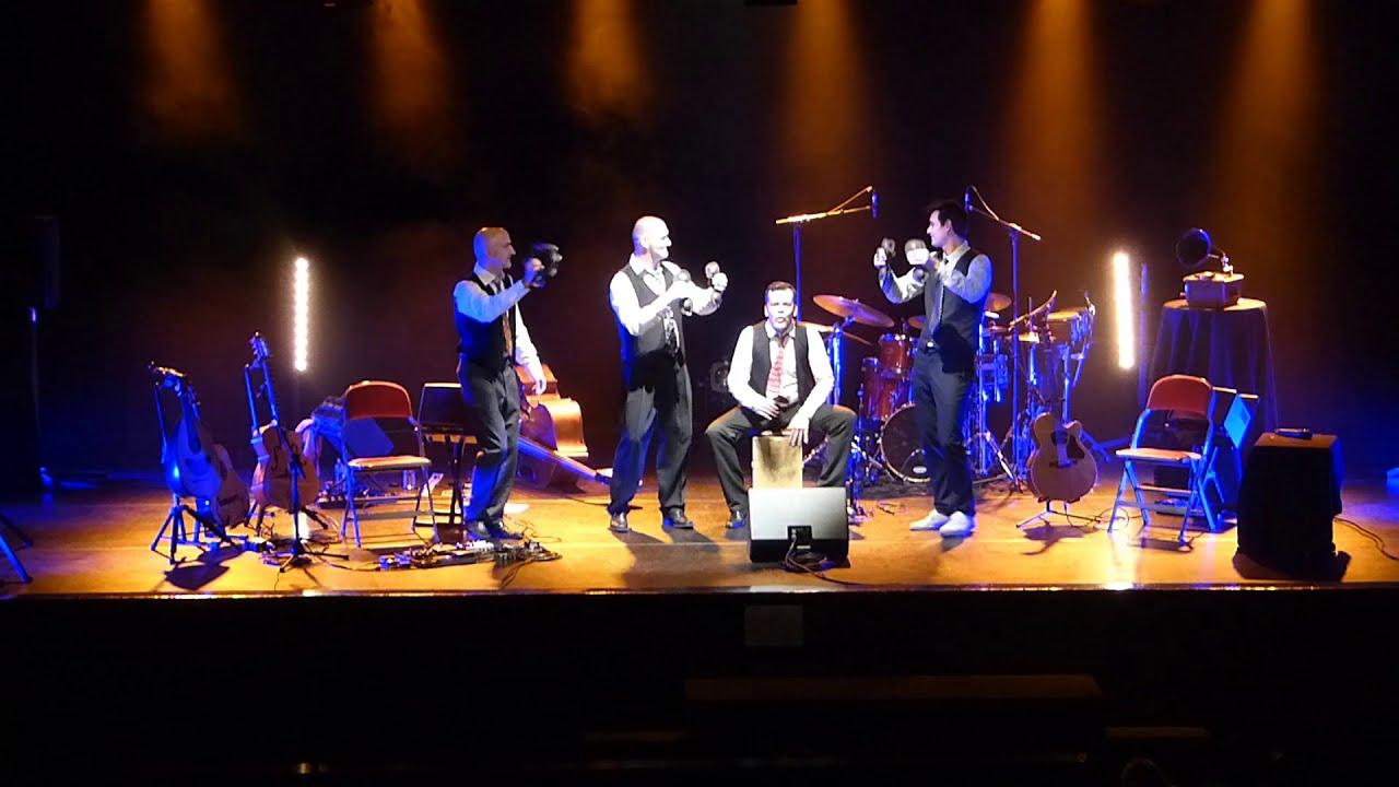 """""""Laissez-passer la musique"""" par MYSTERETRIO 4tet - spectacle musical jazz jeune public"""