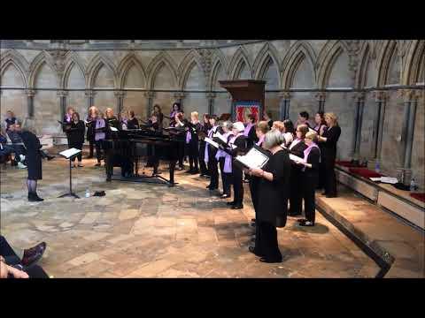 Di Voci Ladies Choir - Total Praise - Recital at Lincoln Cathedral