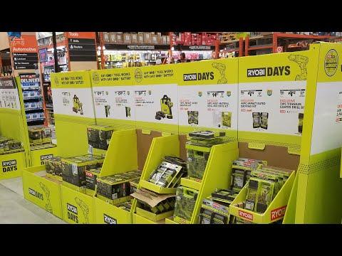 Ryobi Days 2019 Sale Home Depot Insane Tool Discounts Youtube