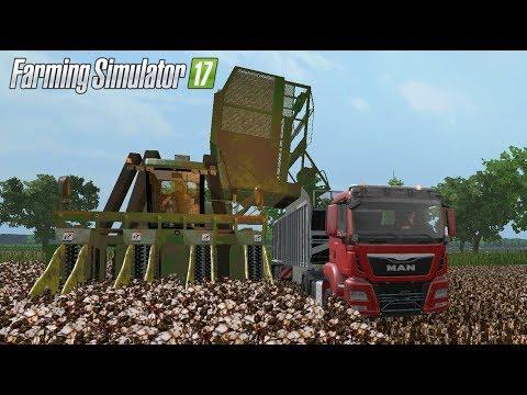 Farming Simulator 17 | Cosecha de Algodón | Cosechadoras John Deere