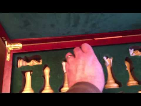 House of Staunton Empire Luxury Chess Set Overview Part 3