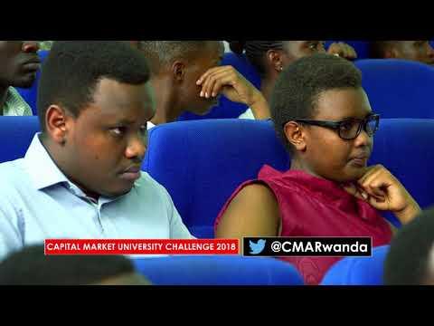 The fifth edition of the #Rwanda's Capital Market University Challenge kicks off