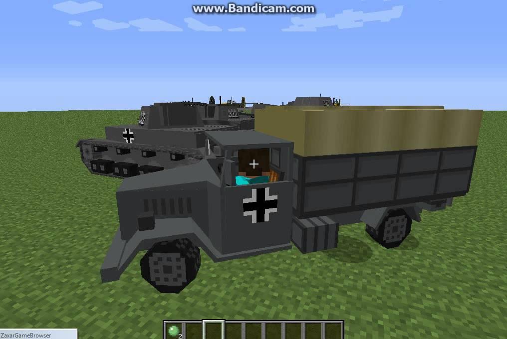 мод на майнкрафт 1.7.10 танки #3