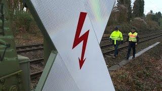 14Jähriger durch Stromschlag an Bahnoberleitung lebensgefährlich verletzt