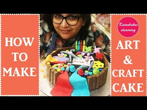 Art and Craft Cake decorating tutorial
