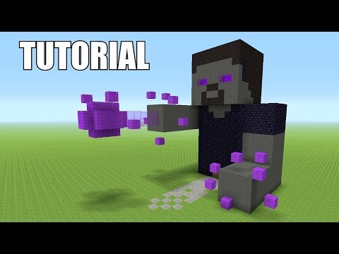 Minecraft Tutorial: How To Make A ENDERBRINE!!